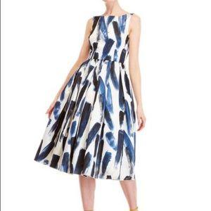 NWT Dolce and Gabbana Brush Stroke Dress size 40